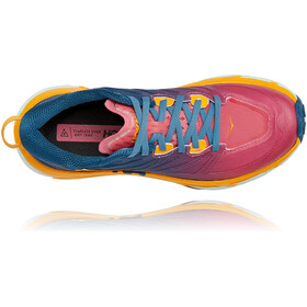 Hoka One One Mafate Speed 3 Schuhe Damen moroccan blue/saffron